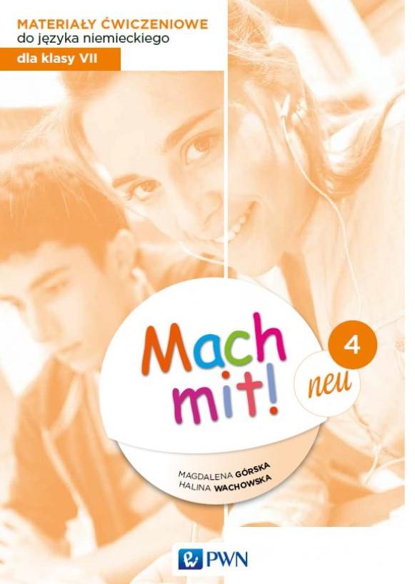 Mach mit! neu 4. Język niemiecki. Szkoła podstawowa klasa 7. Materiały ćwiczeniowe