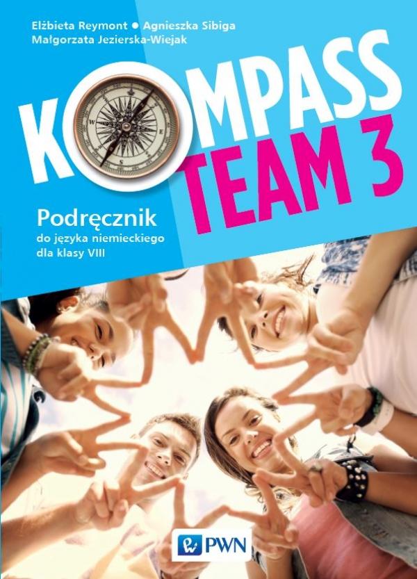Kompass Team 3. Język niemiecki. Szkoła podstawowa klasa 8. Podręcznik