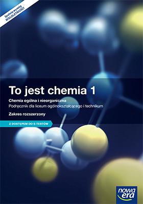 To jest Chemia 1. Szkoła Ponadgimnazjalna. Podręcznik. Zakres Rozszerzony + MATURA-ROM