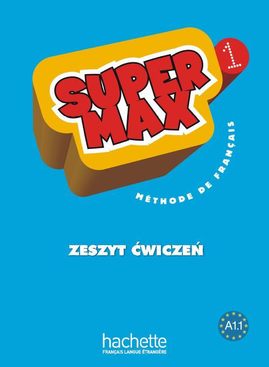 Super Max 1. Ćwiczenia (Wersja Polska)