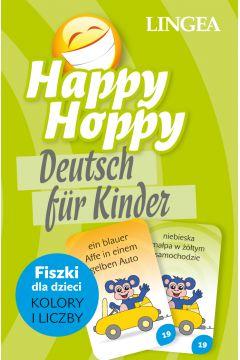 Happy Hoppy. Niemiecki dla Dzieci. Fiszki dla Dzieci. Kolory i Liczby