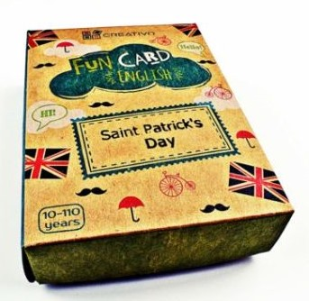 Karty językowe Angielski Fun Card English Saint Patrick's Day