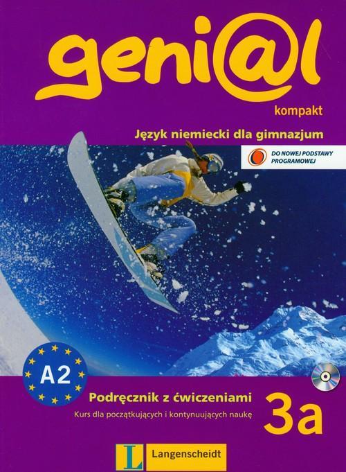 Genial Kompakt 3A Podręcznik + Ćwiczenia + CD