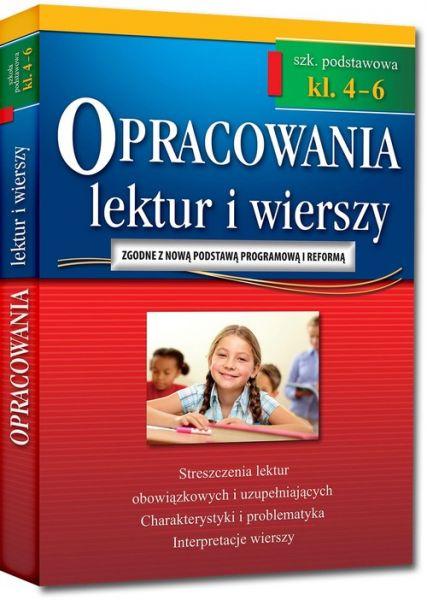 Opracowania lektur i wierszy szkoła podstawowa klasa 4-6