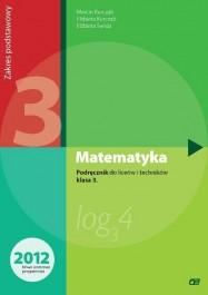 Matematyka 3. Podręcznik. Liceum i Technikum. Zakres Podstawowy