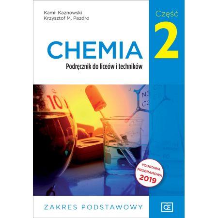 Chemia. Liceum i technikum. Podręcznik część 2. Zakres podstawowy