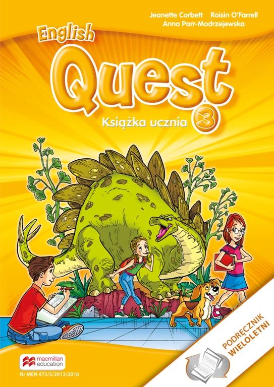 English Quest 3. Podręcznik Wieloletni