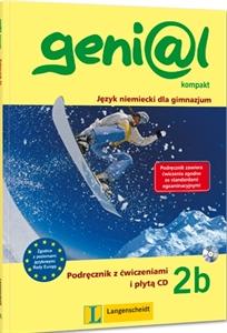 Genial Kompakt 2b. Podręcznik z Ćwiczeniami + CD