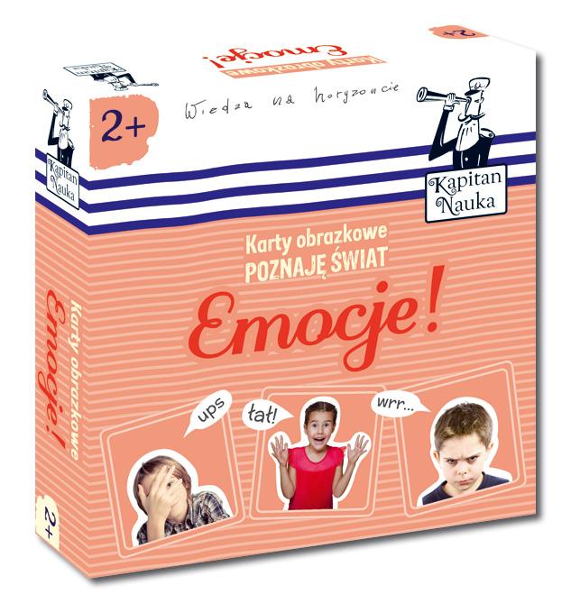 Karty obrazkowe - Poznaję świat - Emocje!