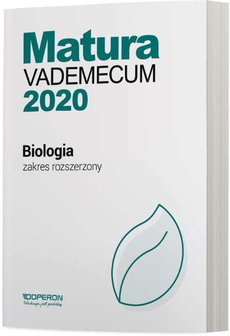 Matura 2020 Biologia Vademecum Zakres Rozszerzony