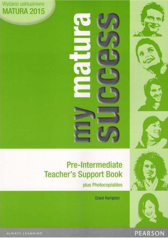 My Matura Success Pre-Intermediate. Książka Nauczyciela (Do Wersji Wieloletniej)