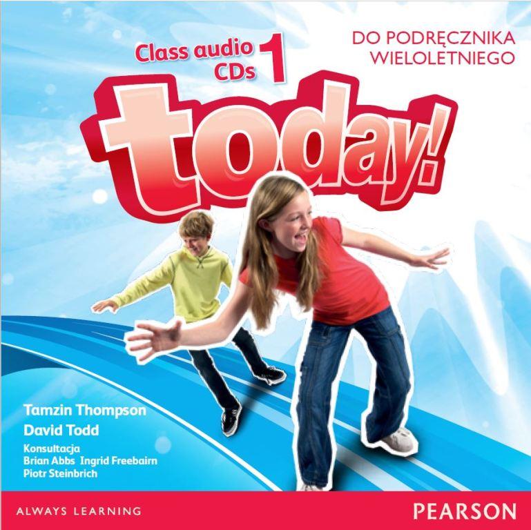 Today! 1. CD do Podręcznika (Do Wersji Wieloletniej)