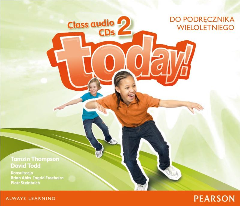 Today! 2. CD do Podręcznika (Do Wersji Wieloletniej)