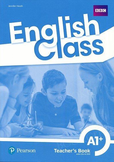 English Class A1+. Książka nauczyciela + CD + DVD + kod do ActiveTeach