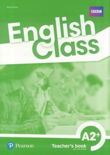 English Class A2+. Książka nauczyciela + CD + DVD + kod do ActiveTeach