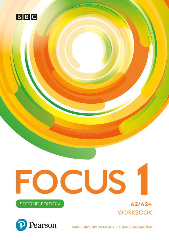 Focus Second Edition 1. Workbook + kod (MyEnglishLab + Online Practice)