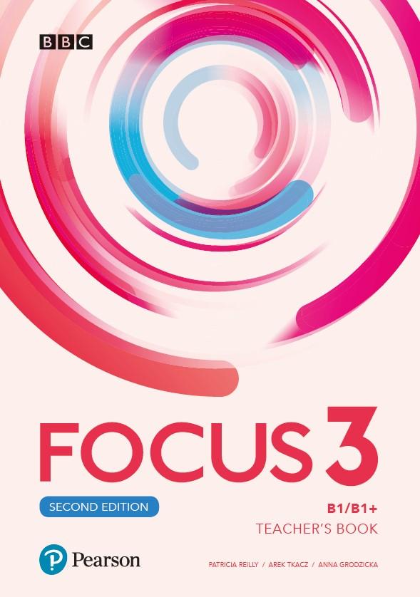 Focus Second Edition 3. Teacher's Book+ Płyty Audio, DVD-ROM i Kod Dostępu do Digital Resources