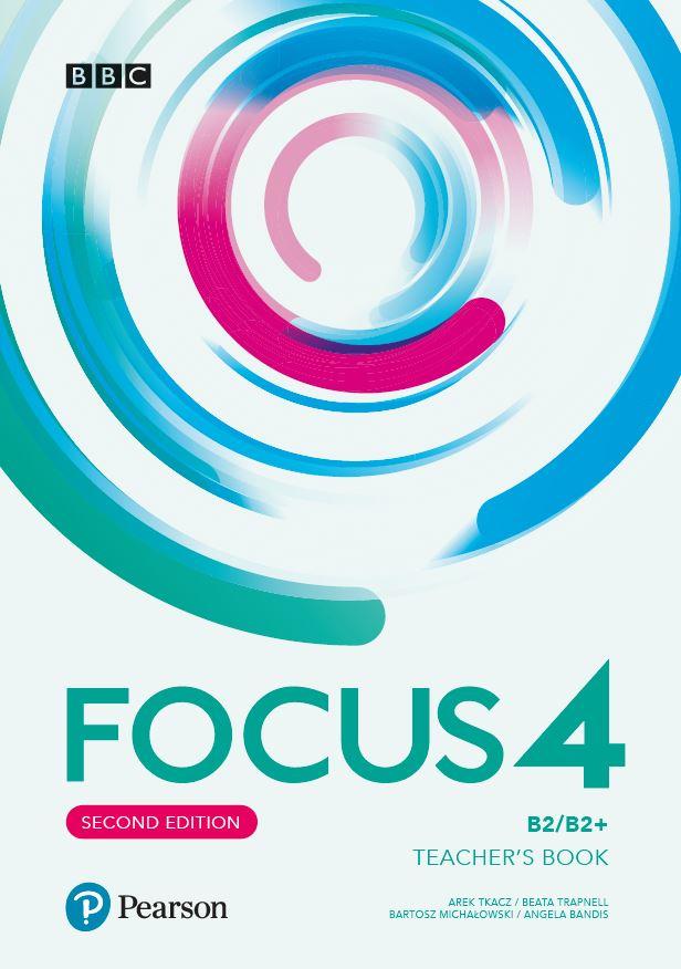 Focus Second Edition 4 Teacher's Book plus płyty audio, DVD-ROM i kod dostępu do Digital Resources