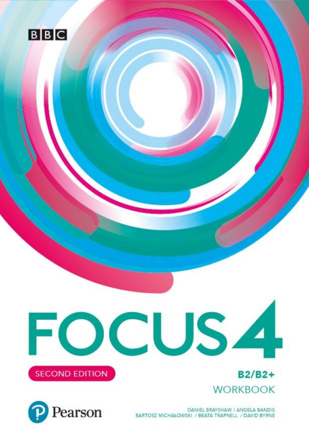 Focus Second Edition 4. Workbook + kod (MyEnglishLab + Online Practice)