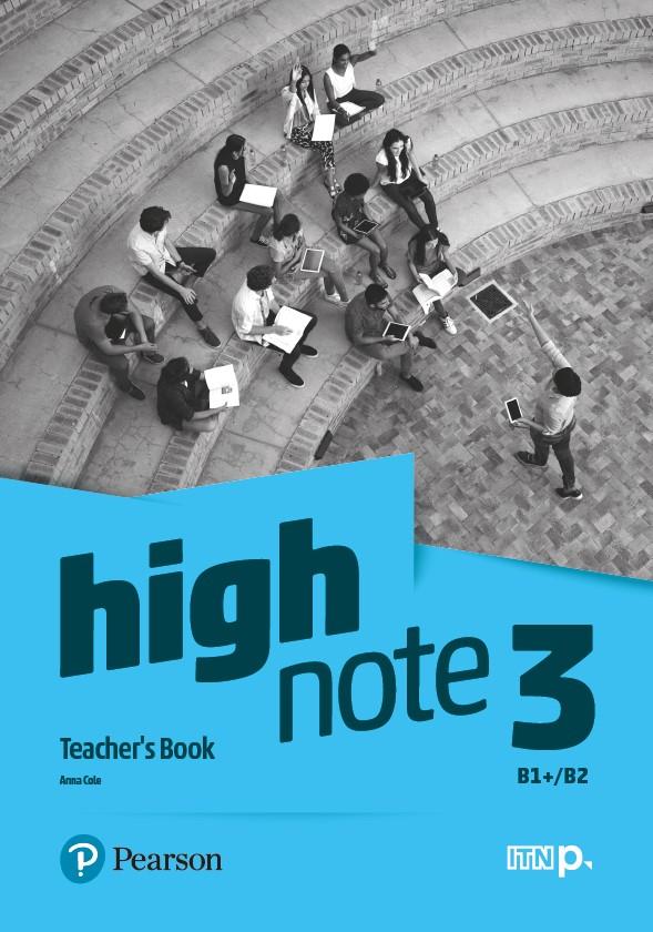 High Note 3. Teacher's Book + CD + DVD + kod dostępu do Digital Resources