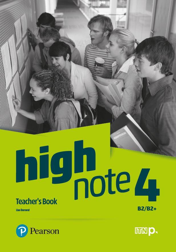 High Note 4. Teacher's Book + CD + DVD + kod (eDesk)