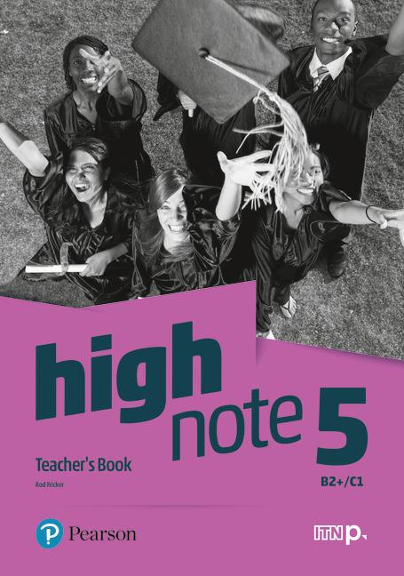 High Note 5. Teacher's Book + CD + DVD +  kod dostępu do Digital Resources