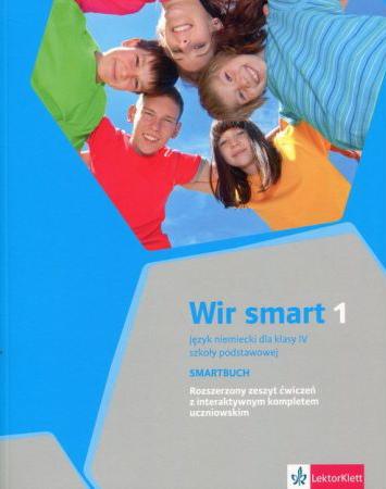 Wir smart 1. Język niemiecki. Szkoła podstawowa klasa 4. Smartbuch. Ćwiczenia wersja rozszerzona