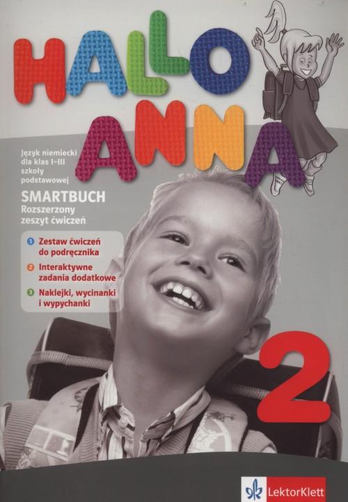 Hallo Anna 2. Smartbuch.  Rozszerzony Zeszyt Ćwiczeń z Interaktywnymi Zadaniami Dodatkowymi