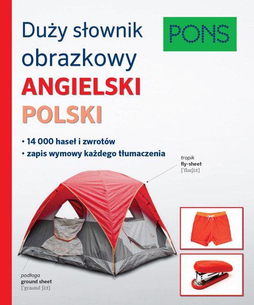 Duży Słownik Obrazkowy Angielski-Polski
