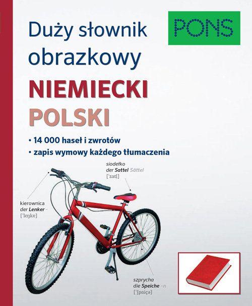 Duży Słownik Obrazkowy Niemiecki-Polski