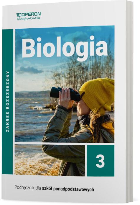 Biologia 3. Szkoła ponadpodstawowa. Podręcznik. Zakres rozszerzony