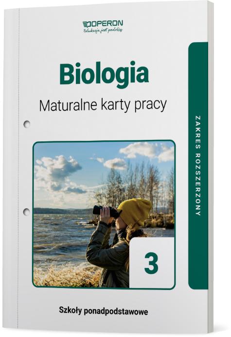 Biologia 3. Szkoła ponadpodstawowa. Maturalne karty pracy. Zakres rozszerzony