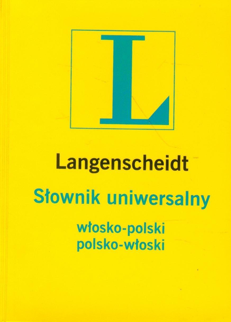 Słownik Uniwersalny Włosko-Polsko-Włoski