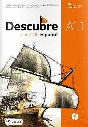 Descubre A1.1 Podręcznik Wieloletni + CD