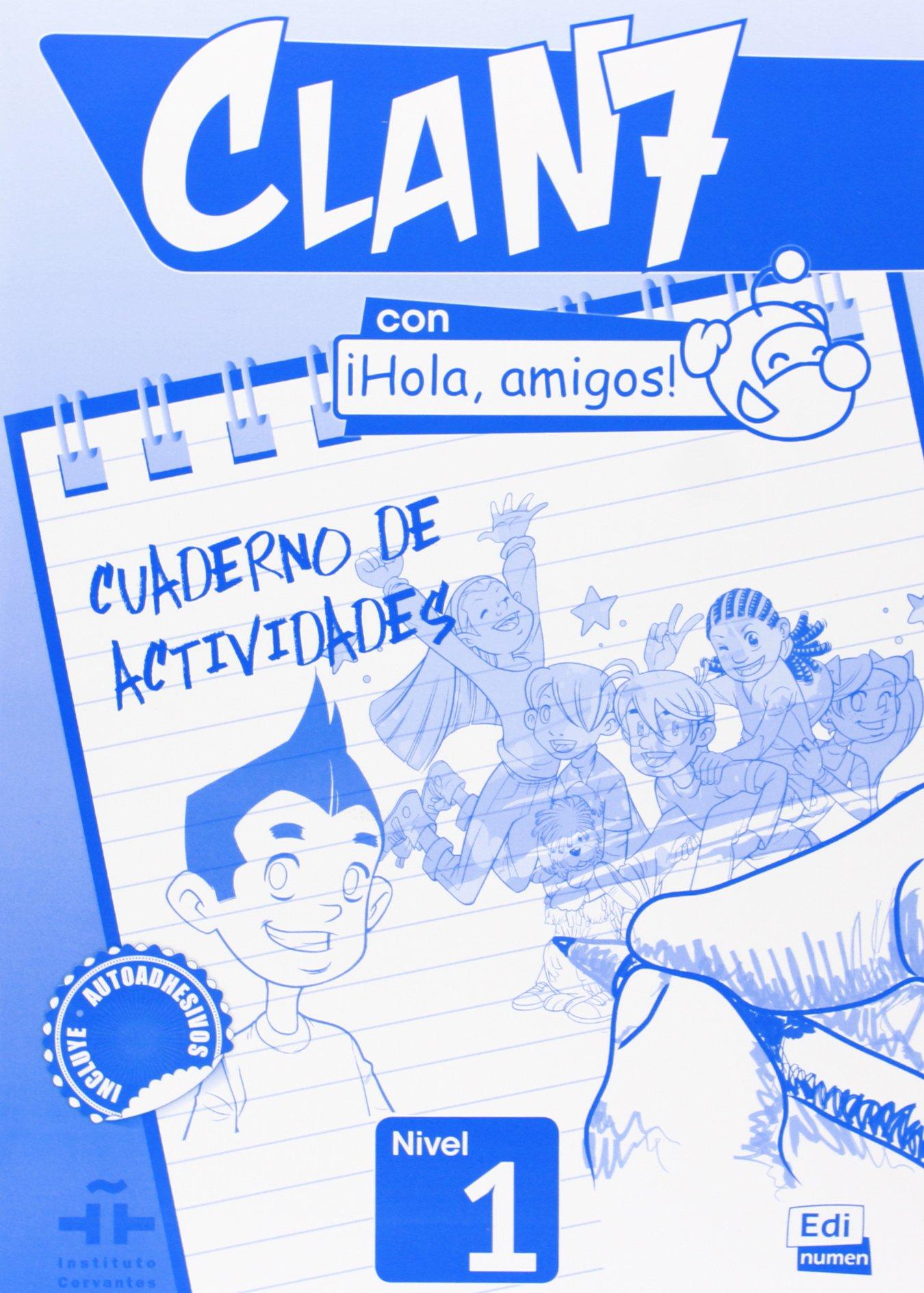 Clan 7 Con Hola, Amigos! 1. Ćwiczenia