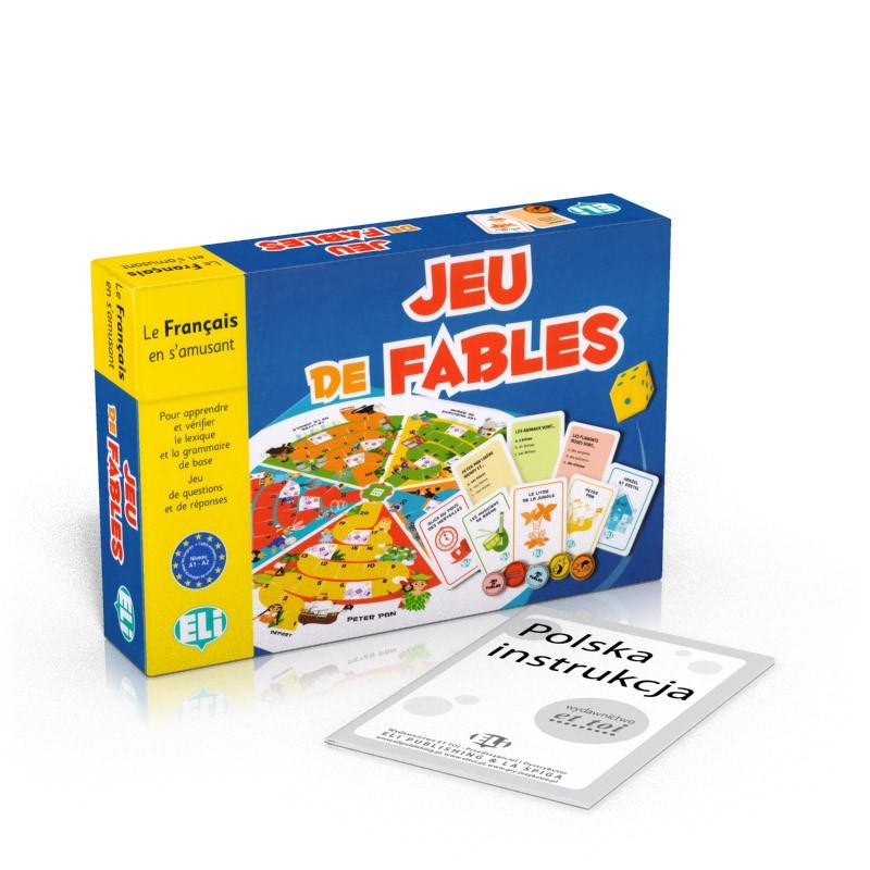 Gra językowa Francuski Jeu de fables