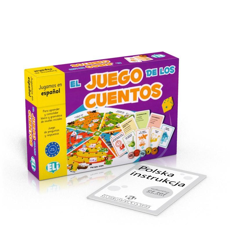 Gra językowa Hiszpański El Juego de los cuentos