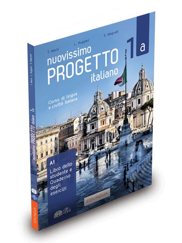 nuovissimo progetto italiano 1a podręcznik ćwiczenia cd dvd