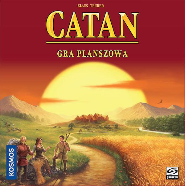 Catan (Osadnicy z Catanu). Edycja Polska. Gra Planszowa
